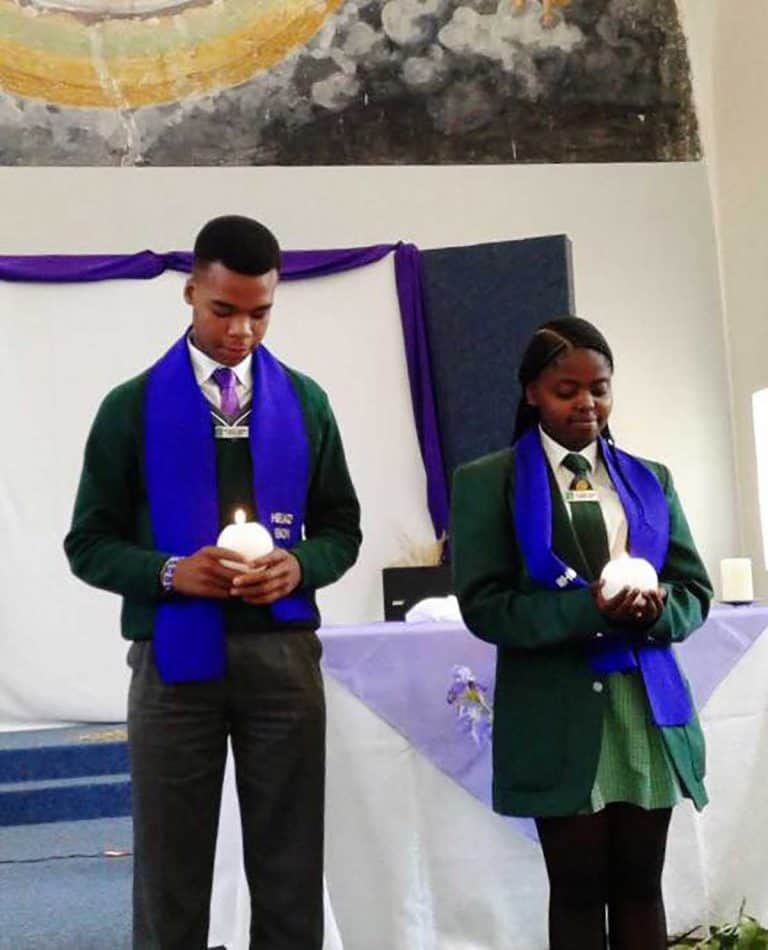 St Peter Claver School – New Headboy and Headgirl